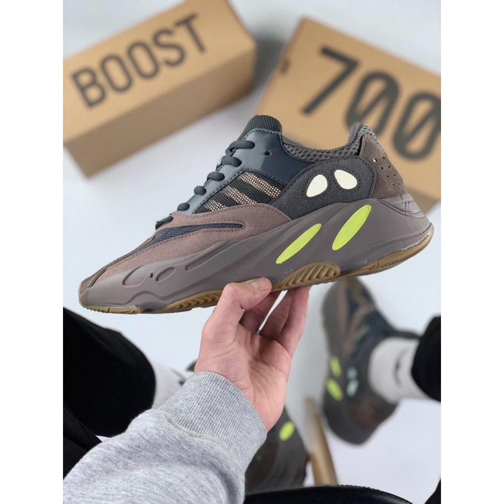Демисезонные кроссовки мужские   - Мужские серые кроссовки Adidas Yeezy 700 Mauve 6