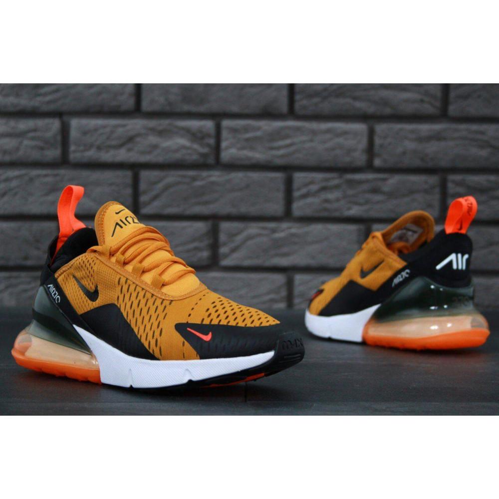Демисезонные кроссовки мужские   - Мужские кроссовки Nike Air Max 270 черно-оранжевые 6