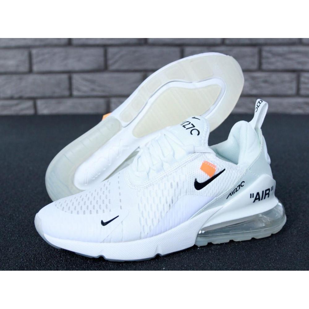Беговые кроссовки мужские  - Кроссовки Nike Air Max 270 Off White 6