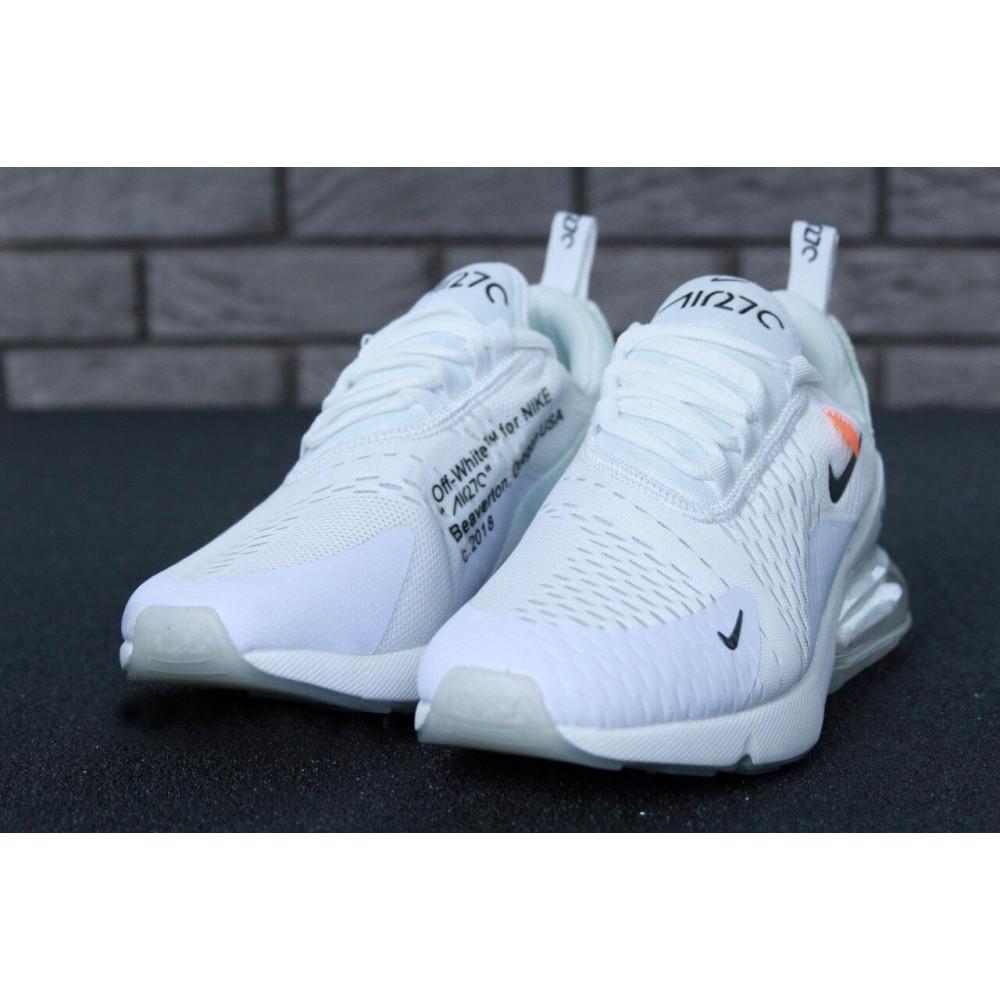 Беговые кроссовки мужские  - Кроссовки Nike Air Max 270 Off White 5