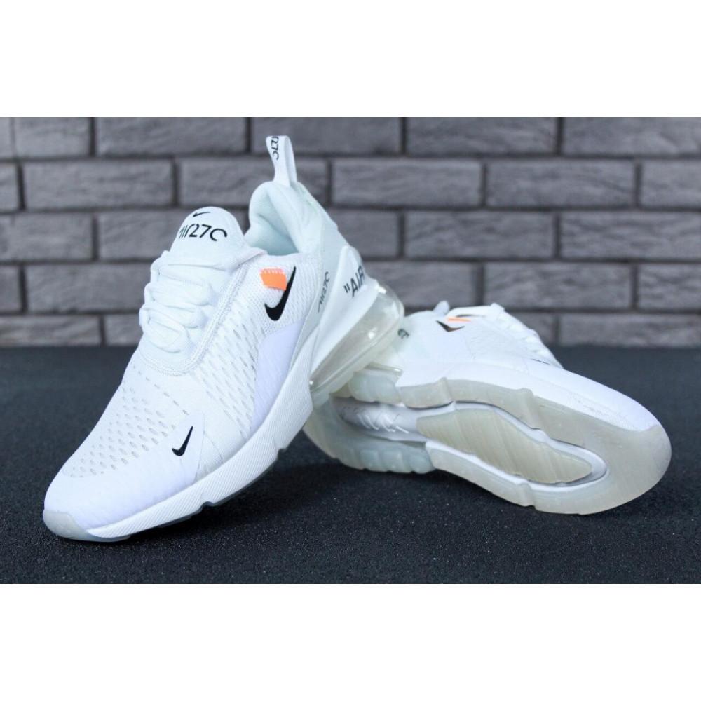 Беговые кроссовки мужские  - Кроссовки Nike Air Max 270 Off White 8
