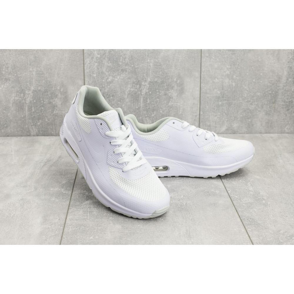 Летние кроссовки мужские - Мужские кроссовки текстильные летние белые Classica G 5082 -1