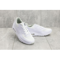 Мужские кроссовки текстильные летние белые Classica G 5082 -1