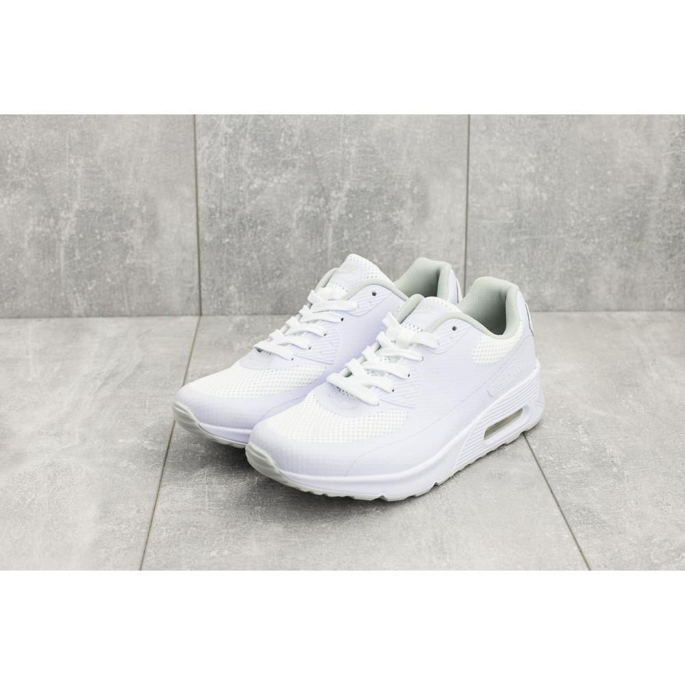 Летние кроссовки мужские - Мужские кроссовки текстильные летние белые Classica G 5082 -1 1