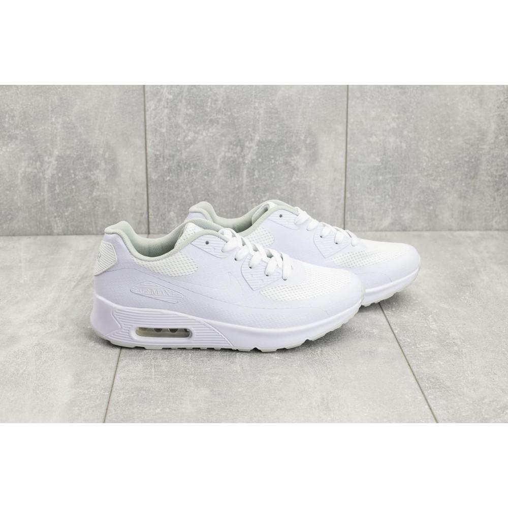 Летние кроссовки мужские - Мужские кроссовки текстильные летние белые Classica G 5082 -1 2