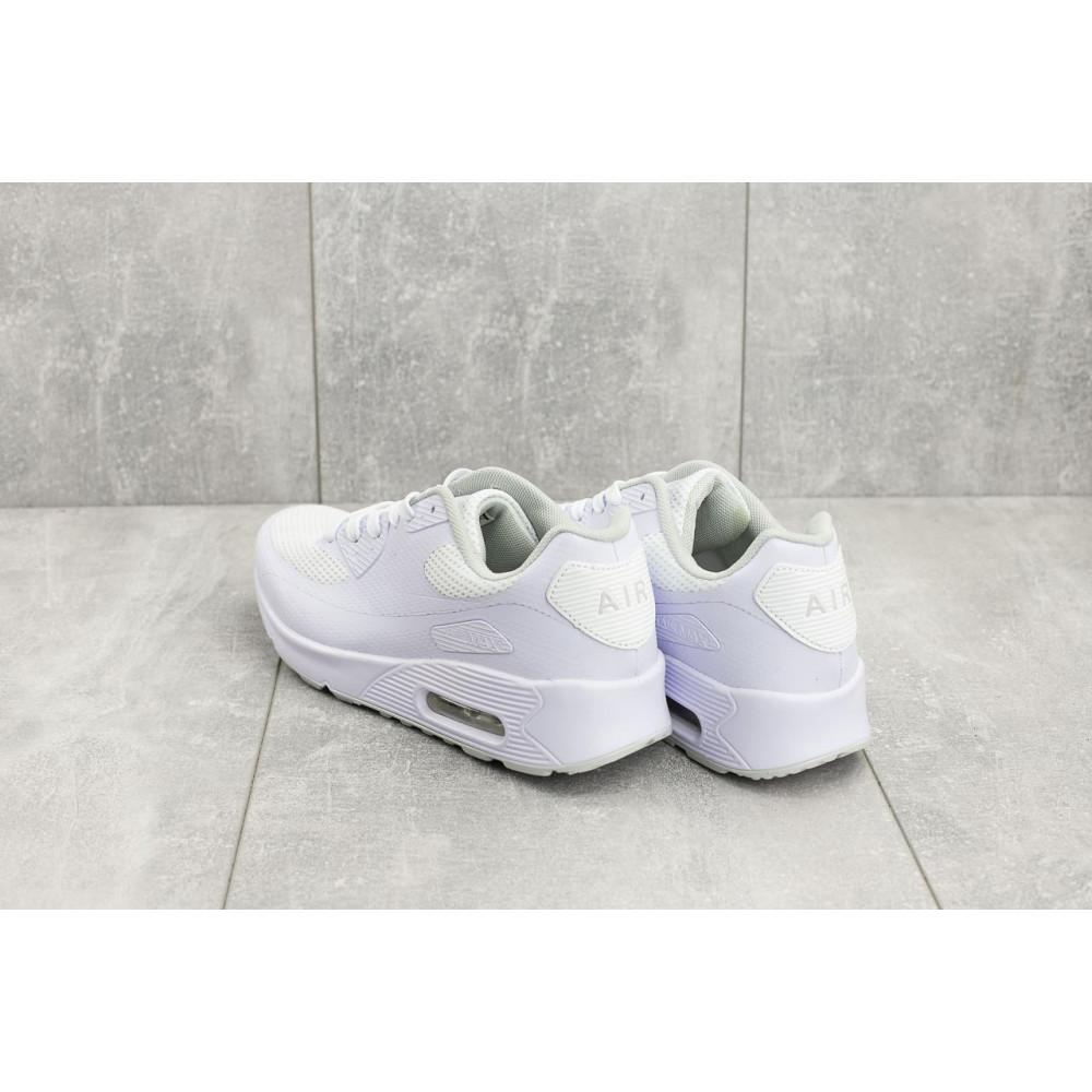 Летние кроссовки мужские - Мужские кроссовки текстильные летние белые Classica G 5082 -1 3