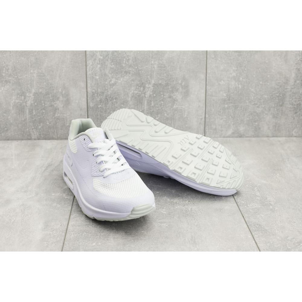 Летние кроссовки мужские - Мужские кроссовки текстильные летние белые Classica G 5082 -1 4