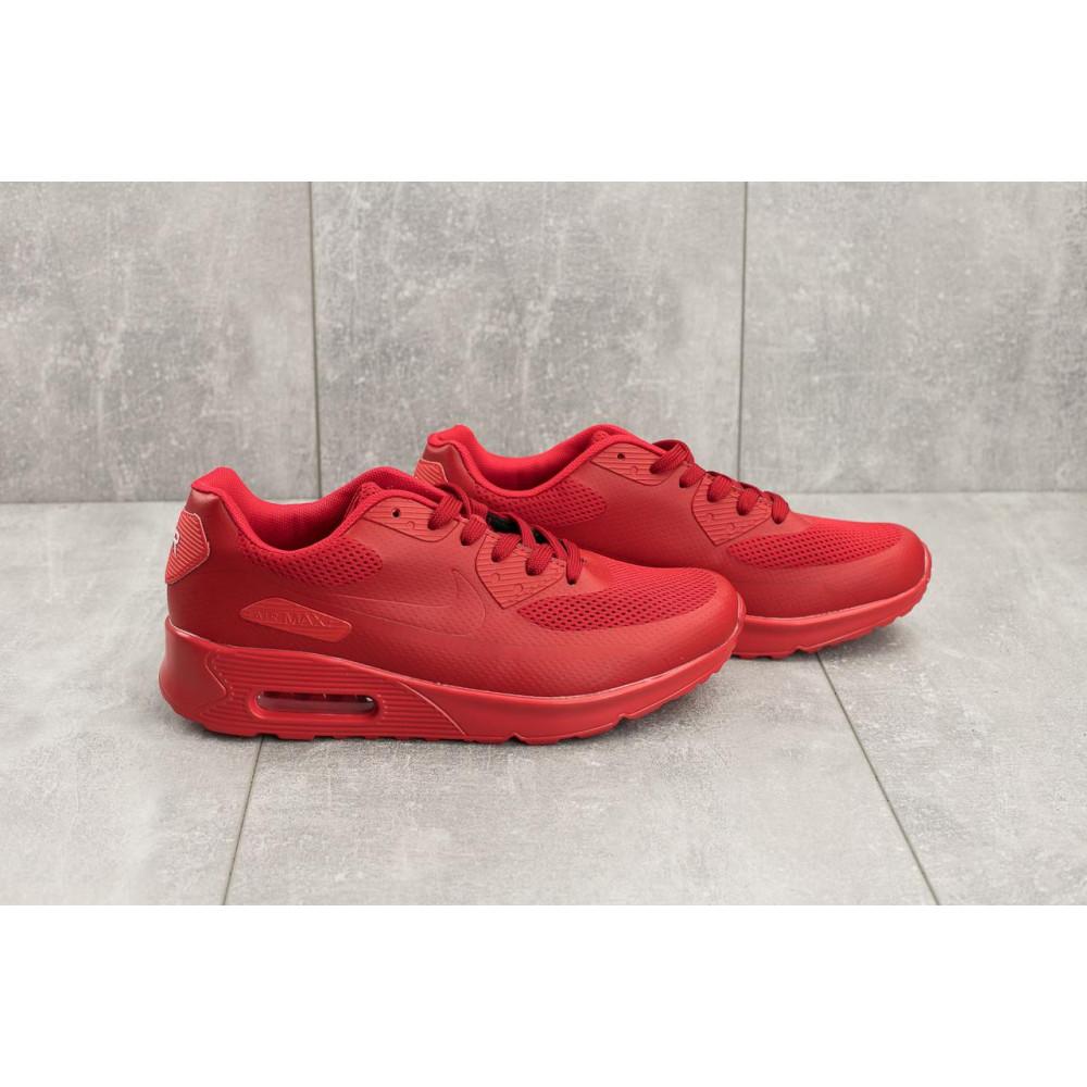 Летние кроссовки мужские - Мужские кроссовки искусственная кожа летние красные Classica G 5082 -3 2