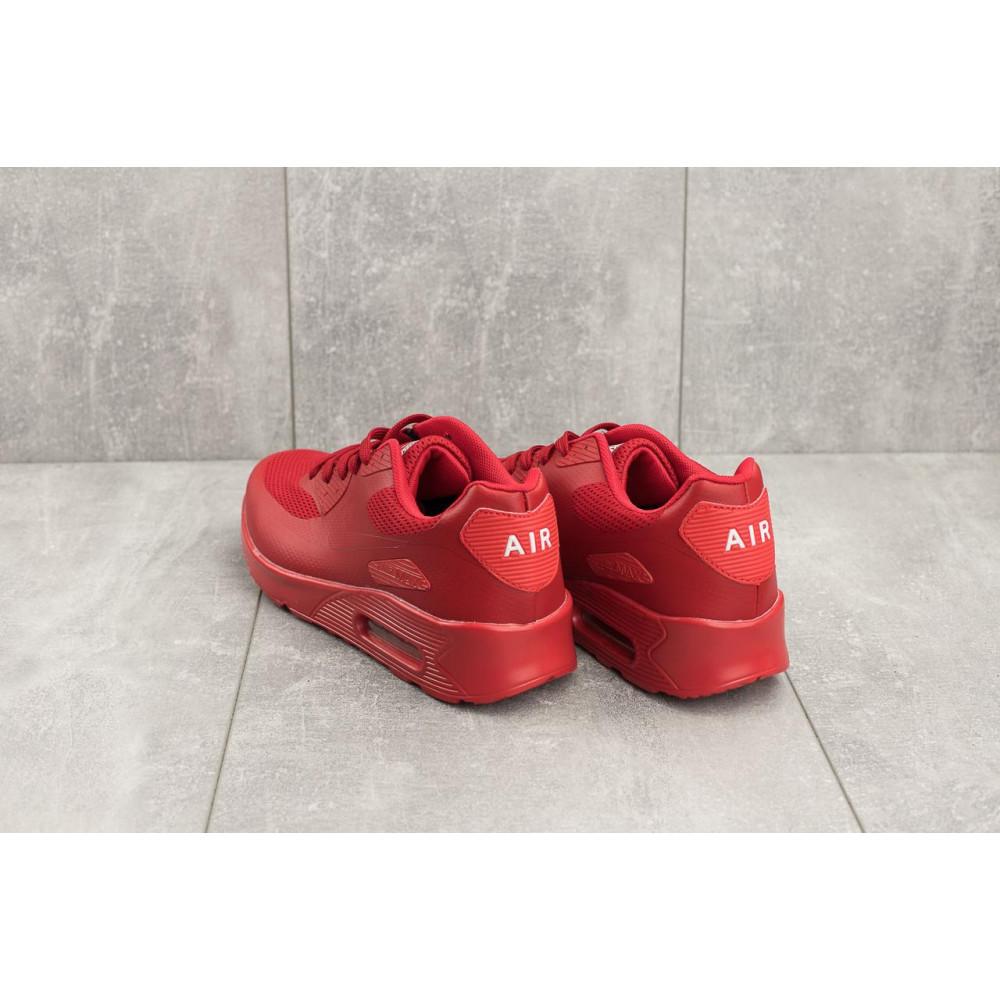 Летние кроссовки мужские - Мужские кроссовки искусственная кожа летние красные Classica G 5082 -3 3