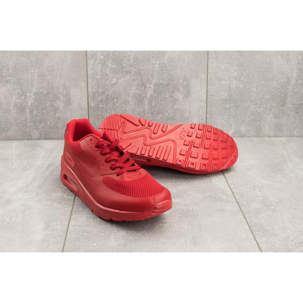 Летние кроссовки мужские - Мужские кроссовки искусственная кожа летние красные Classica G 5082 -3 4