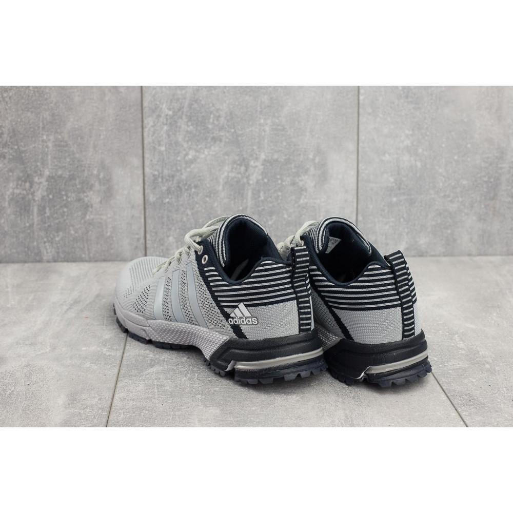 Демисезонные кроссовки мужские   - Мужские кроссовки текстильные весна/осень серые Classica G 5078 -1 2