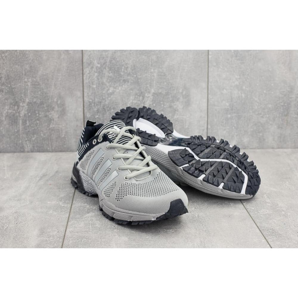 Демисезонные кроссовки мужские   - Мужские кроссовки текстильные весна/осень серые Classica G 5078 -1 1
