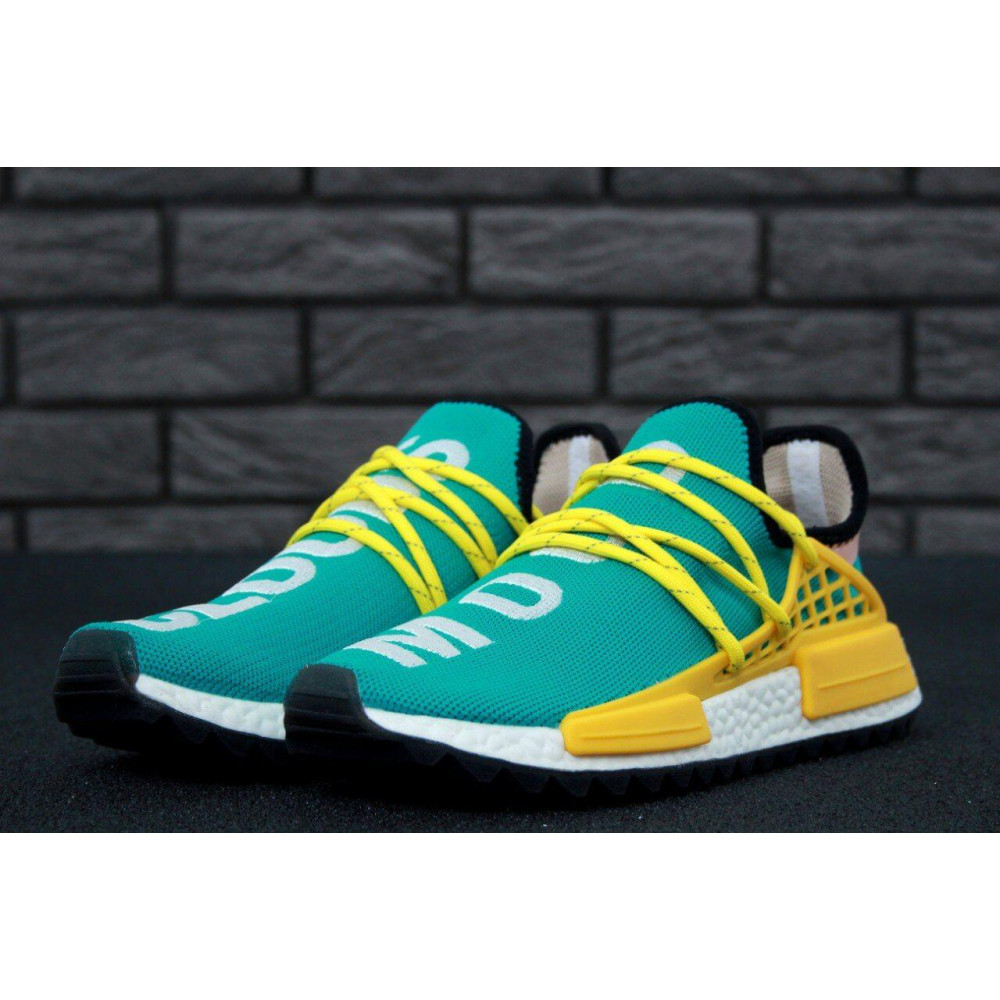 Беговые кроссовки мужские  - Мужские кроссовки Adidas x Pharrell Williams Human Race NMD 3