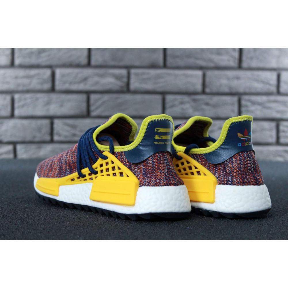 Беговые кроссовки мужские  - Кроссовки Adidas x Pharrell Williams Human Race NMD Multicolor 2