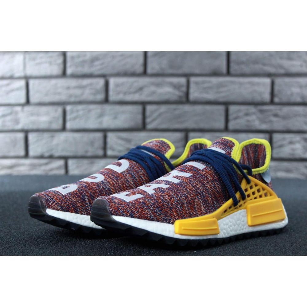 Беговые кроссовки мужские  - Кроссовки Adidas x Pharrell Williams Human Race NMD Multicolor 3