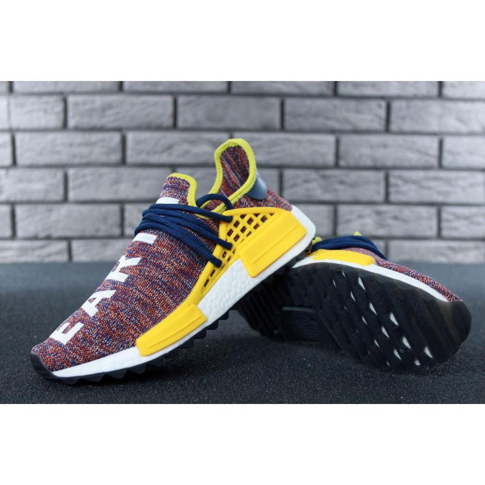 Беговые кроссовки мужские  - Кроссовки Adidas x Pharrell Williams Human Race NMD Multicolor 4
