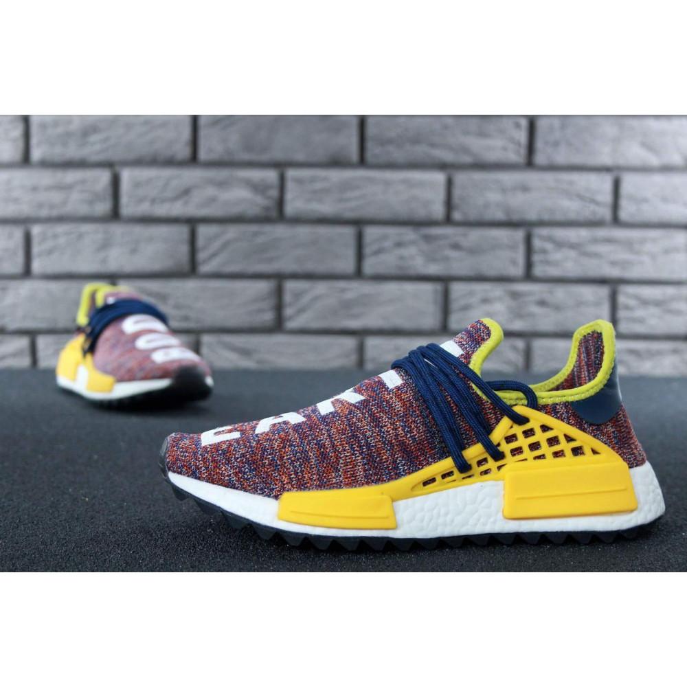 Беговые кроссовки мужские  - Кроссовки Adidas x Pharrell Williams Human Race NMD Multicolor 5