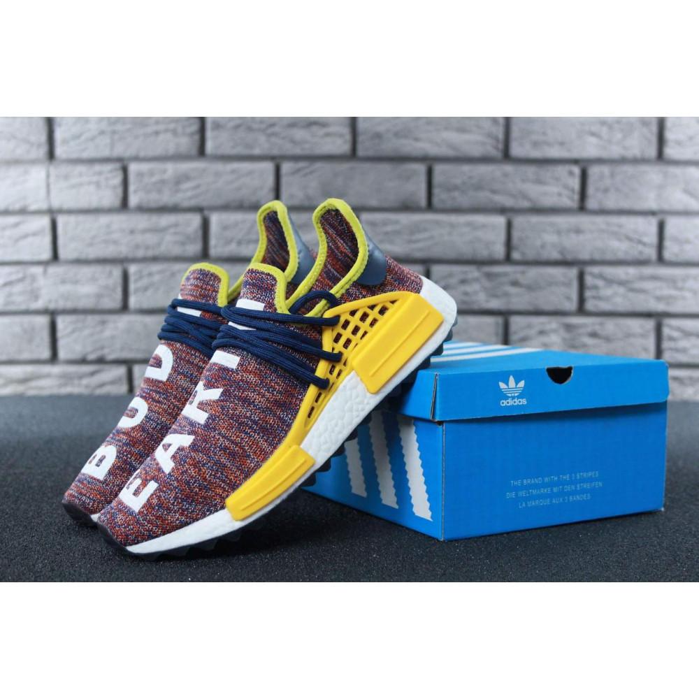 Беговые кроссовки мужские  - Кроссовки Adidas x Pharrell Williams Human Race NMD Multicolor