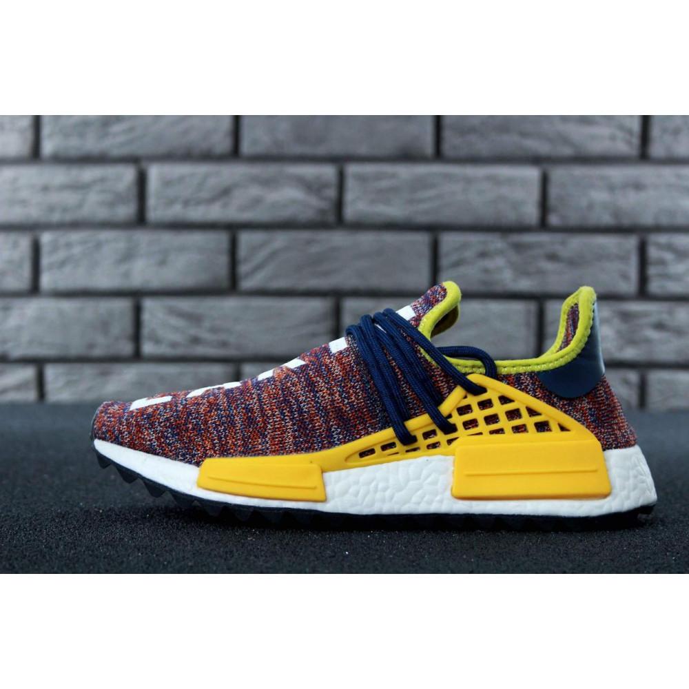 Беговые кроссовки мужские  - Кроссовки Adidas x Pharrell Williams Human Race NMD Multicolor 1