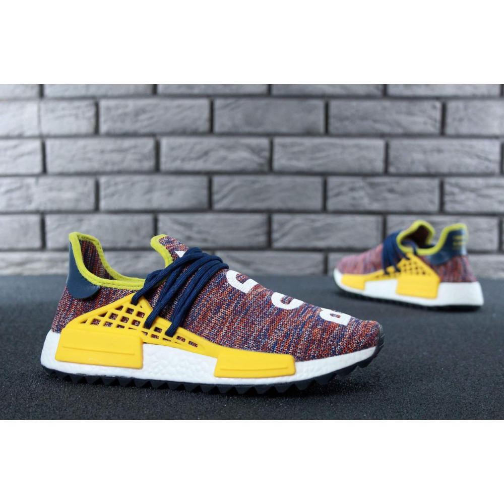 Беговые кроссовки мужские  - Кроссовки Adidas x Pharrell Williams Human Race NMD Multicolor 6