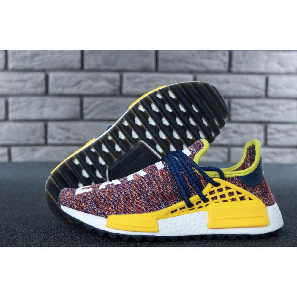 Беговые кроссовки мужские  - Кроссовки Adidas x Pharrell Williams Human Race NMD Multicolor 7