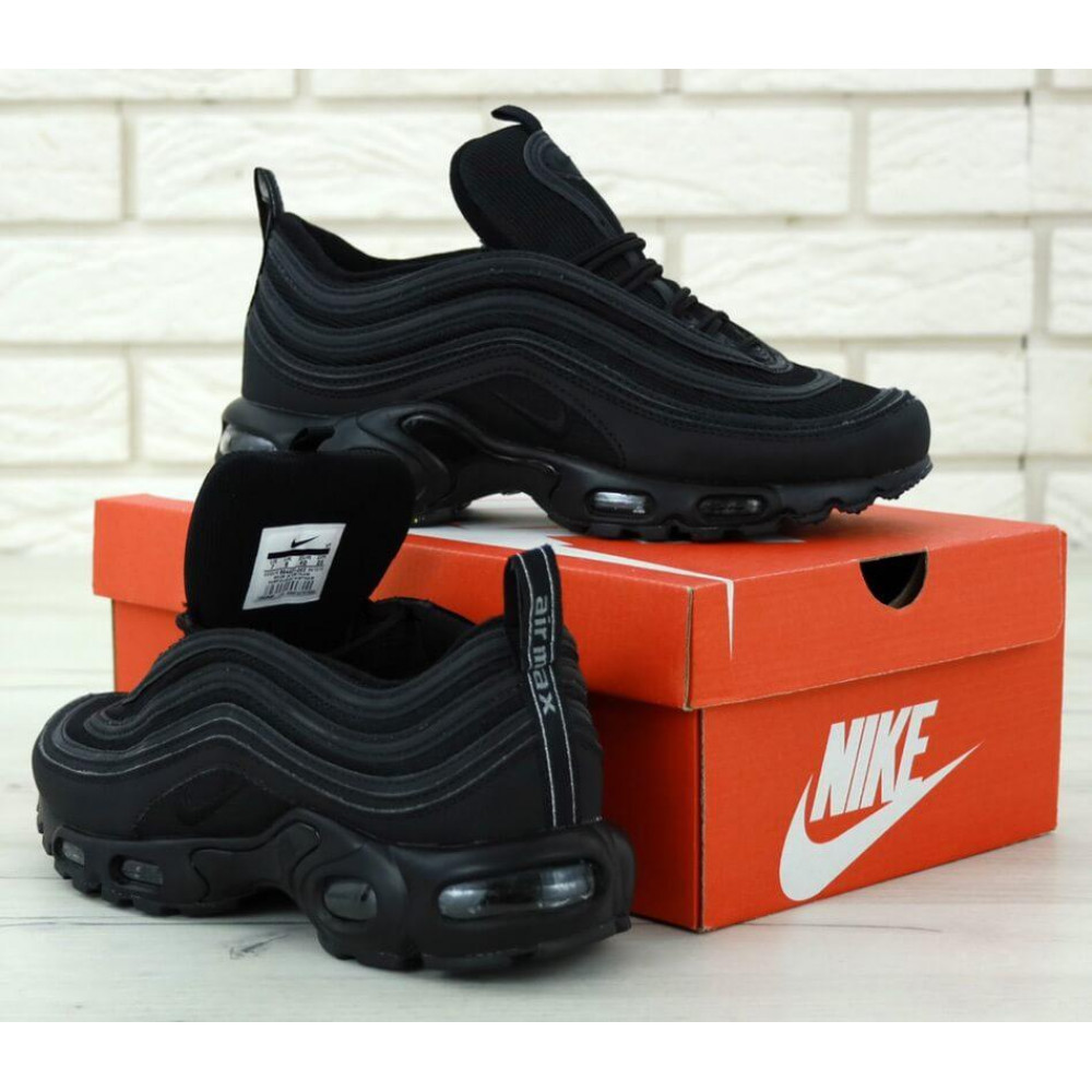 Кроссовки - Мужские черные кроссовки Nike Air Max 97 Plus 4