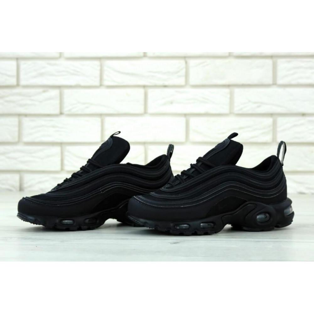 Кроссовки - Мужские черные кроссовки Nike Air Max 97 Plus 1