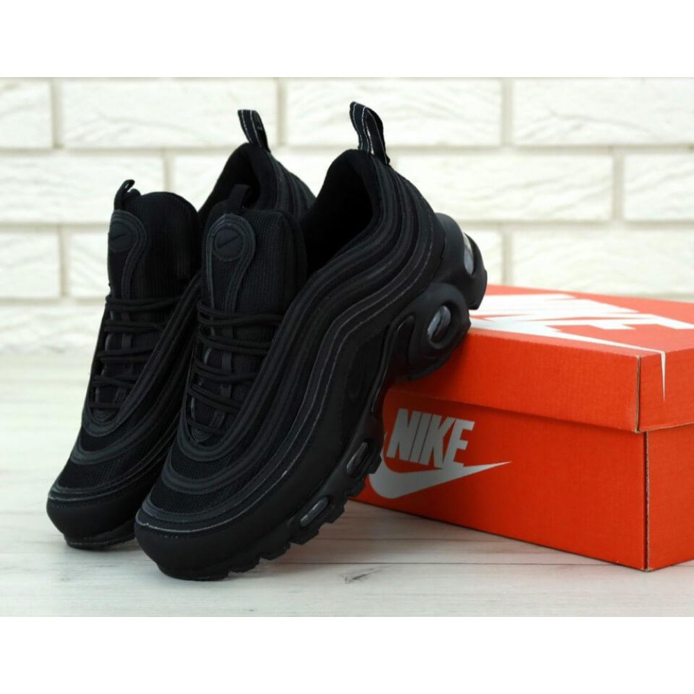 Кроссовки - Мужские черные кроссовки Nike Air Max 97 Plus