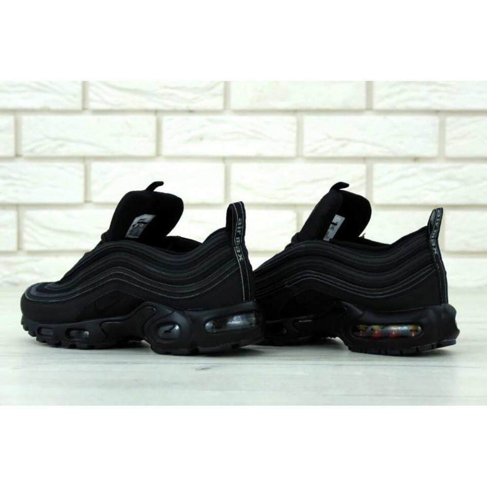 Кроссовки - Мужские черные кроссовки Nike Air Max 97 Plus 2