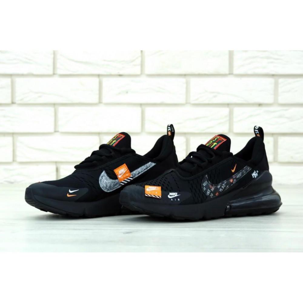 Демисезонные кроссовки мужские   - Мужские кроссовки Air Max 270 Just Do It Black 3