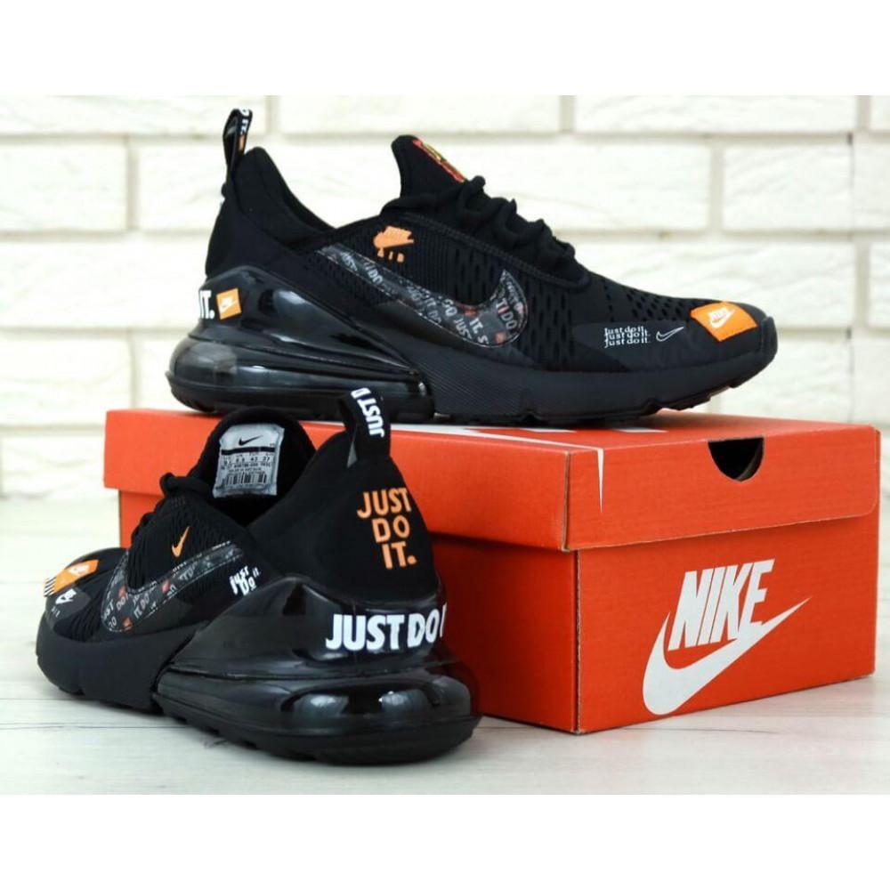 Демисезонные кроссовки мужские   - Мужские кроссовки Air Max 270 Just Do It Black 2