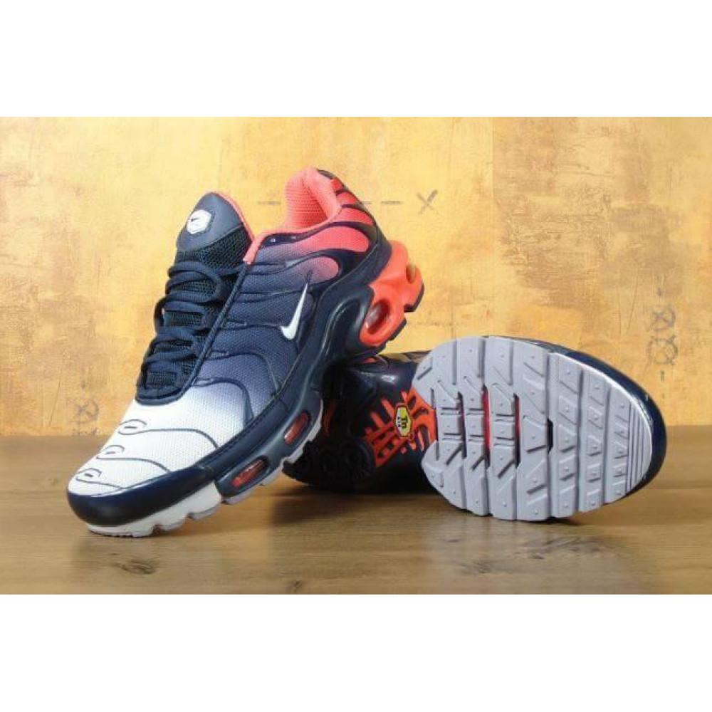 Демисезонные кроссовки мужские   - Мужские кроссовки Nike Air Max Tn Plus Navy Blue Red 7