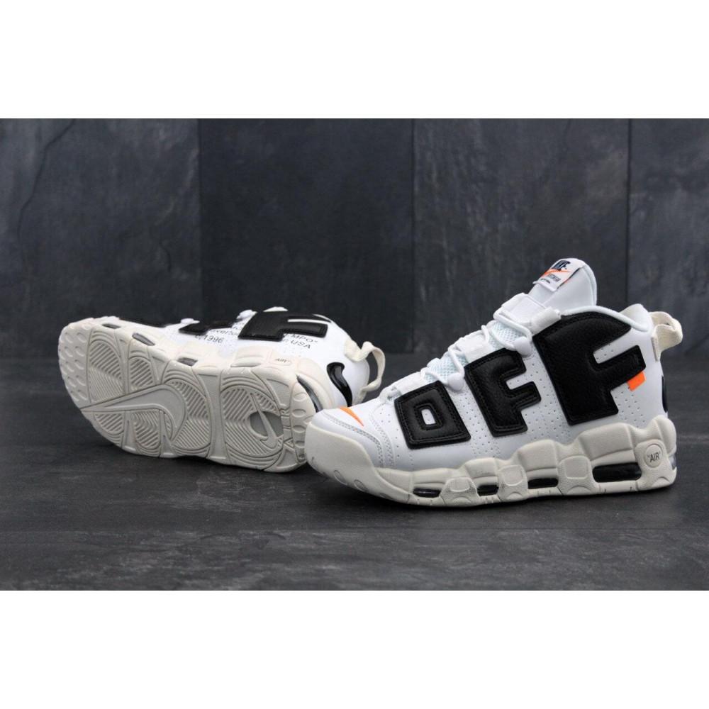 Демисезонные кроссовки мужские   - Мужские кроссовки Air More UpTempo Off White 2