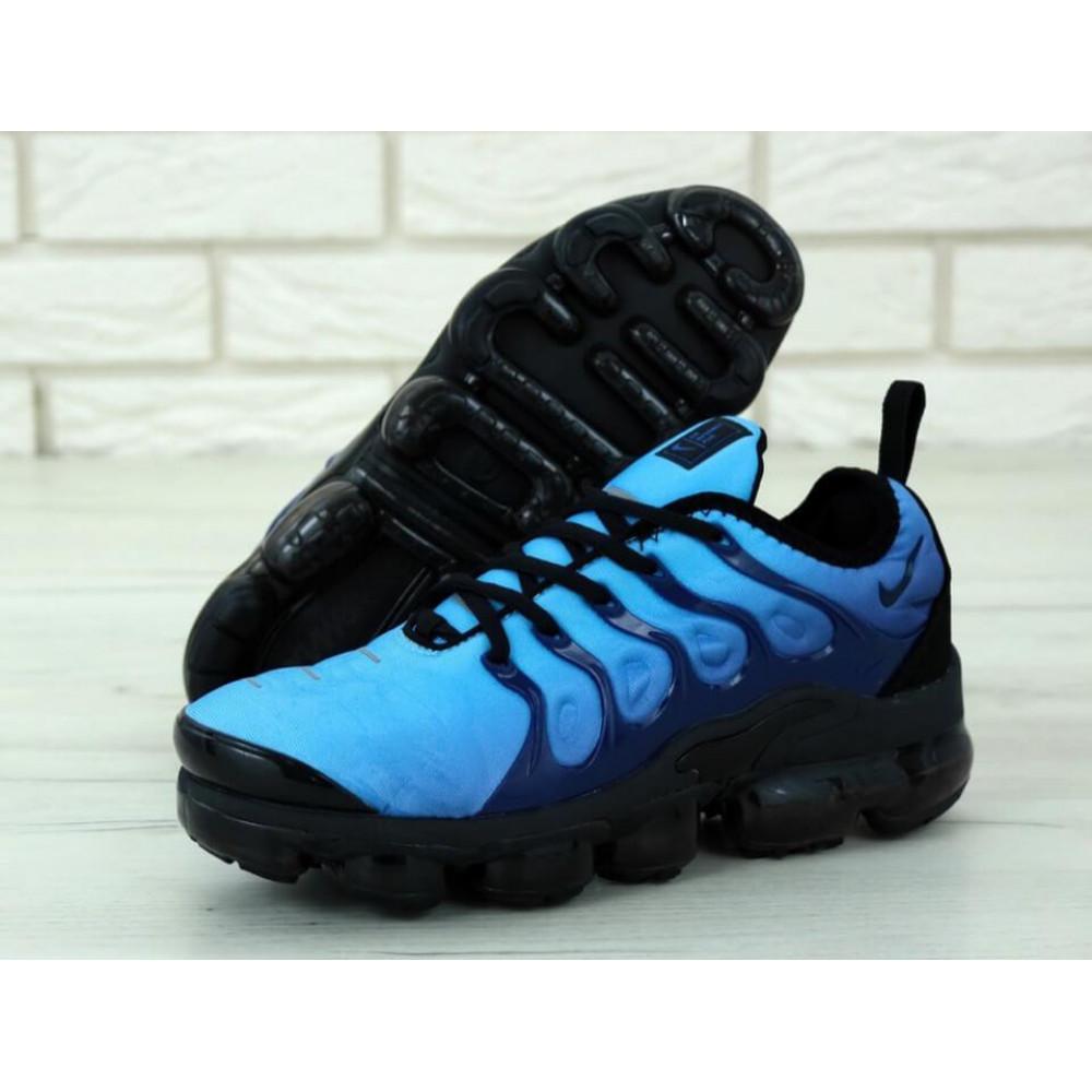 Классические кроссовки мужские - Мужские кроссовки Найк Вапормакс синего цвета 1