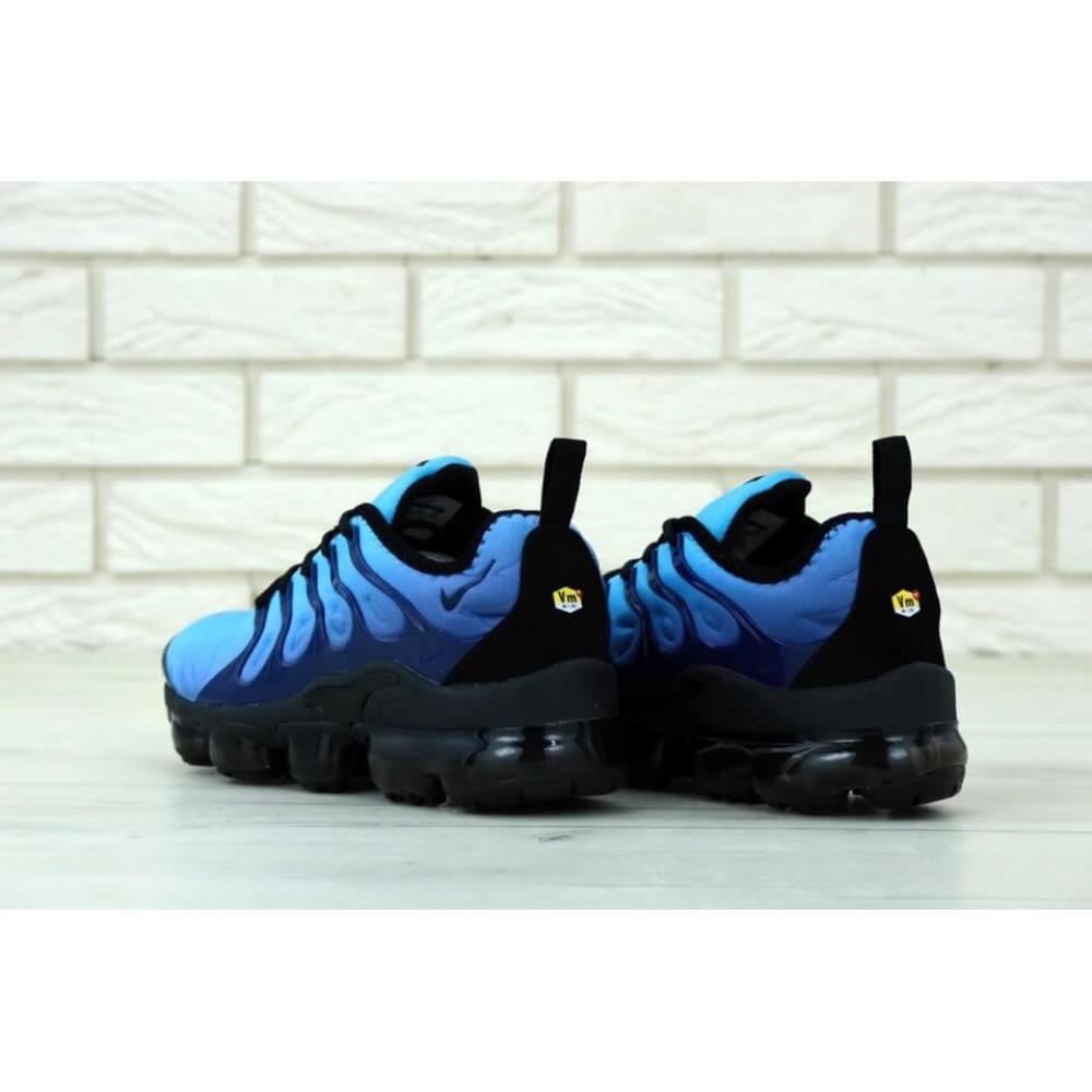 Классические кроссовки мужские - Мужские кроссовки Найк Вапормакс синего цвета 3