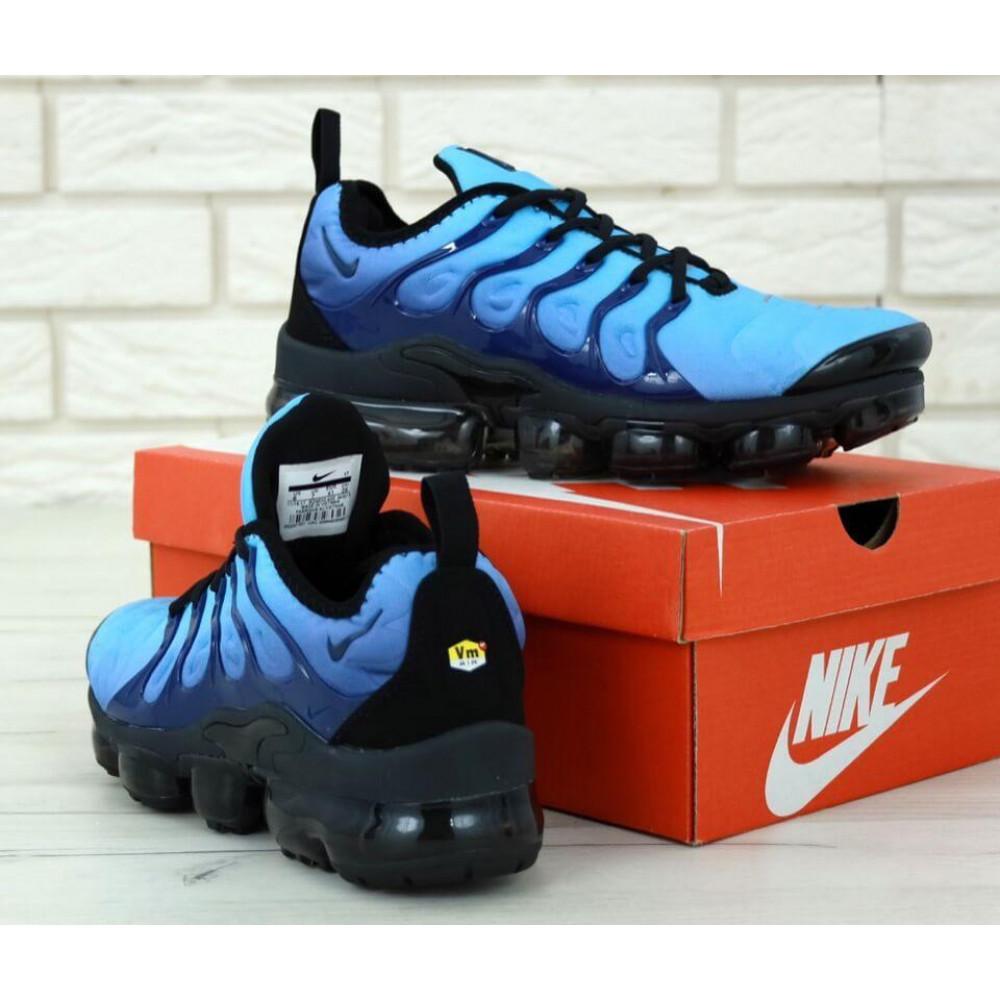 Классические кроссовки мужские - Мужские кроссовки Найк Вапормакс синего цвета 4