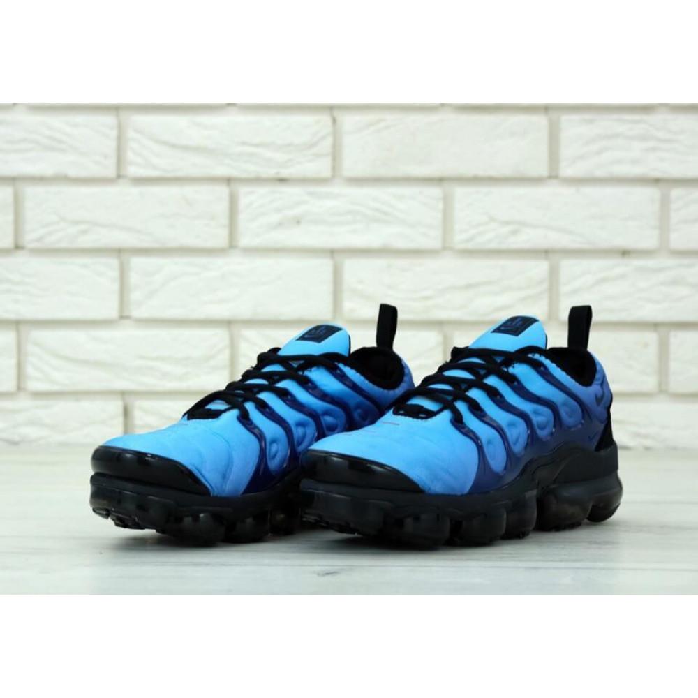 Классические кроссовки мужские - Мужские кроссовки Найк Вапормакс синего цвета 2