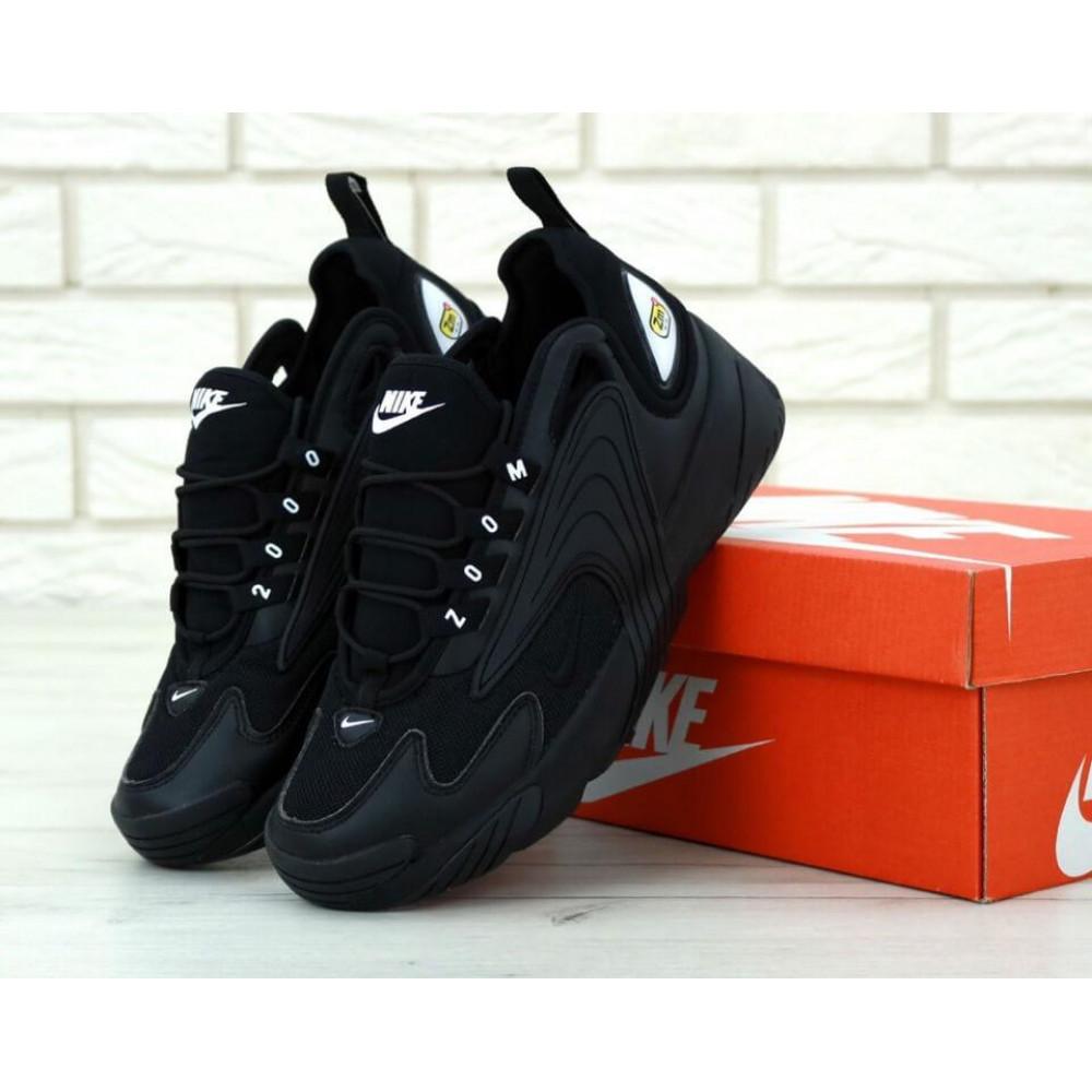 Демисезонные кроссовки мужские   - Черные мужские кроссовки Найк Зум 2К