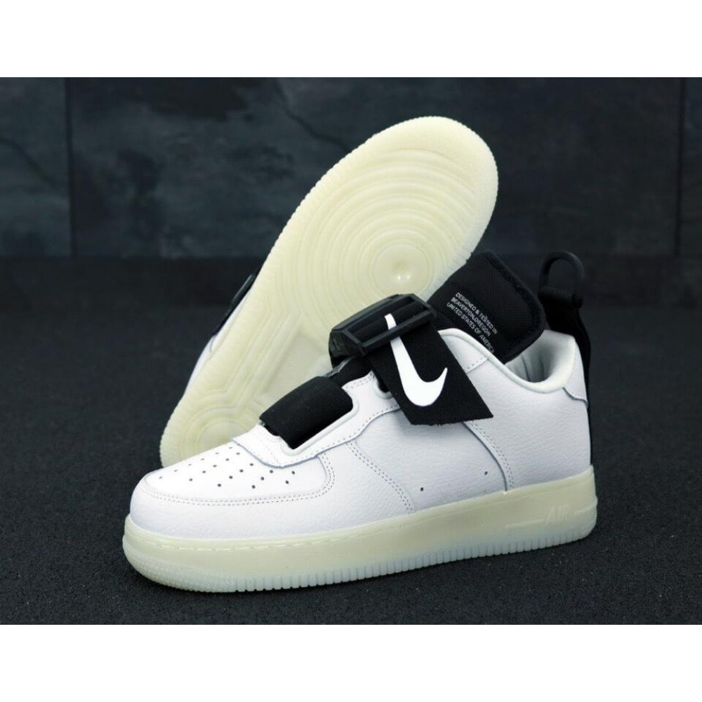 Летние кроссовки мужские - Мужские кроссовки Nike Air Force 1 Low Utility White 1