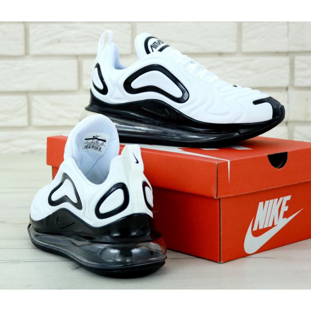 Демисезонные кроссовки мужские   - Мужские белые кроссовки Найк Аир Макс 720 3