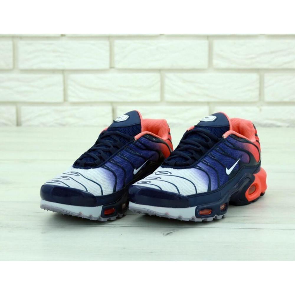 Демисезонные кроссовки мужские   - Мужские кроссовки Nike Air Max Tn Plus Navy Blue Red 2