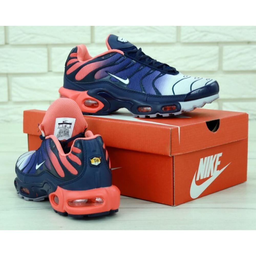 Демисезонные кроссовки мужские   - Мужские кроссовки Nike Air Max Tn Plus Navy Blue Red 5