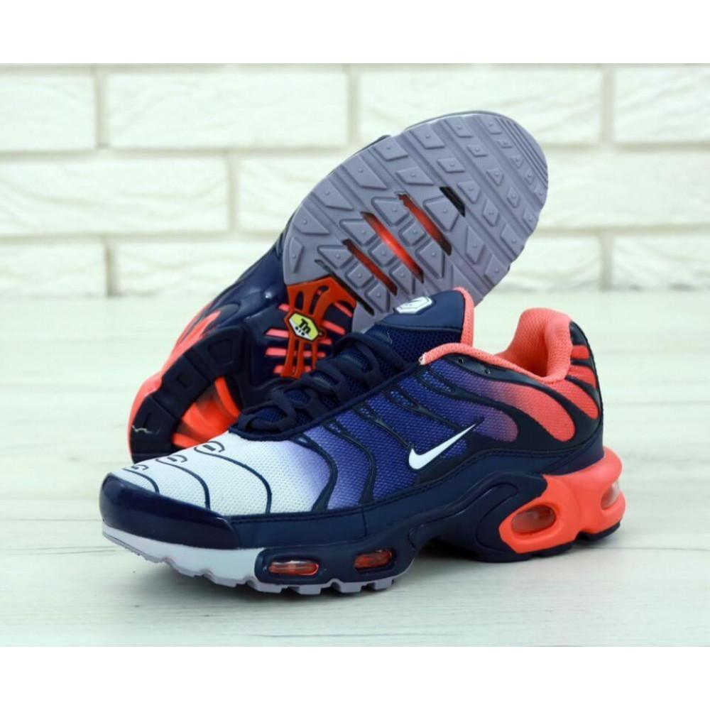 Демисезонные кроссовки мужские   - Мужские кроссовки Nike Air Max Tn Plus Navy Blue Red 1