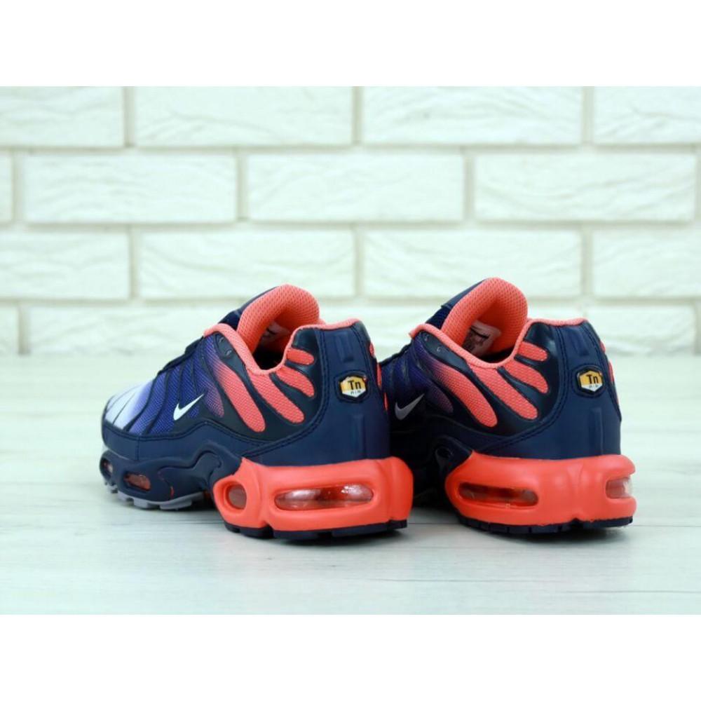 Демисезонные кроссовки мужские   - Мужские кроссовки Nike Air Max Tn Plus Navy Blue Red 3