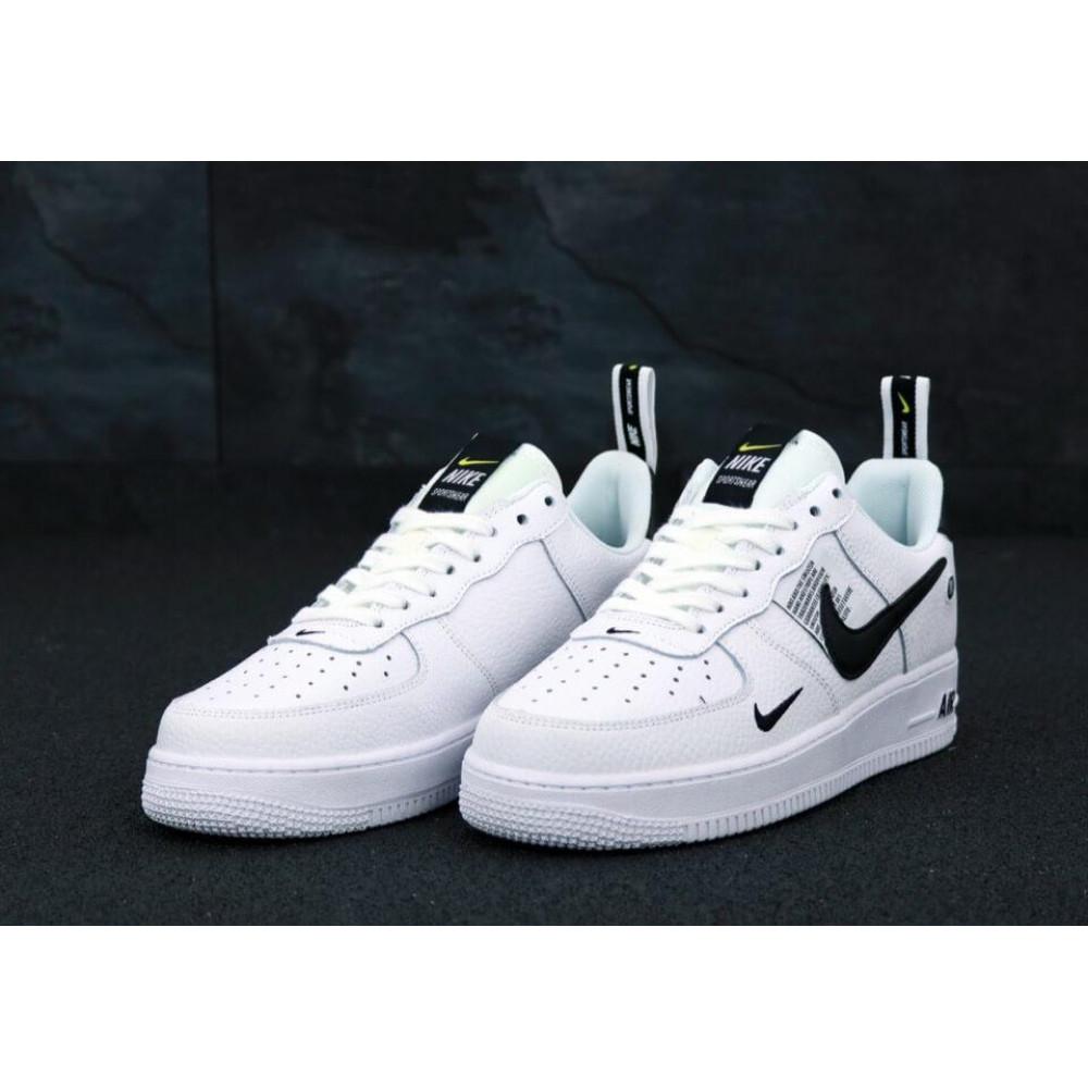 Демисезонные кроссовки мужские   - Мужские кроссовки Air Force 1 Low TM White 2