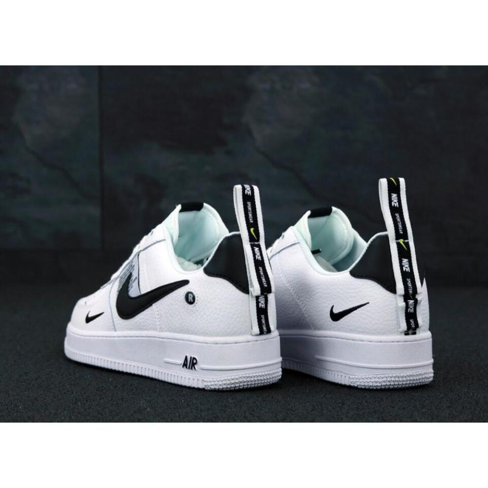 Демисезонные кроссовки мужские   - Мужские кроссовки Air Force 1 Low TM White 4