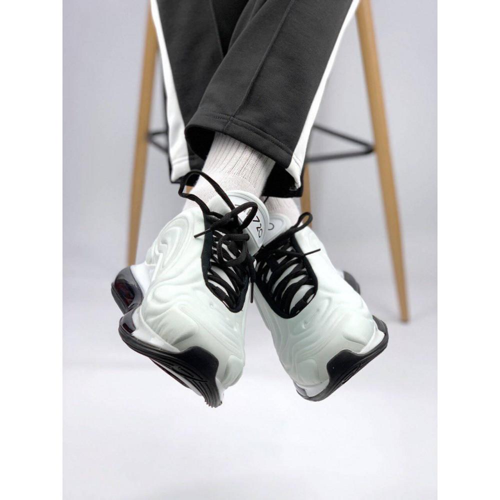 Демисезонные кроссовки мужские   - Белые летние мужские кроссовки Nike Air Max 720 1