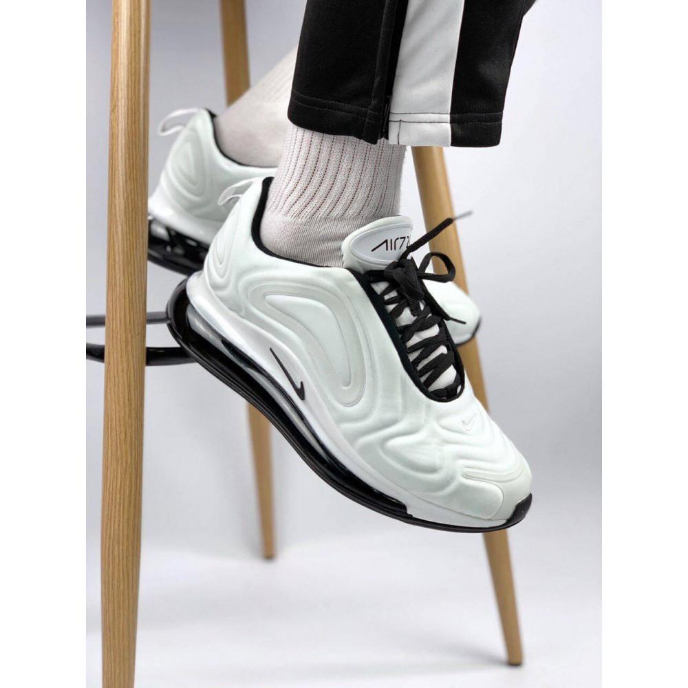 Демисезонные кроссовки мужские   - Белые летние мужские кроссовки Nike Air Max 720 4