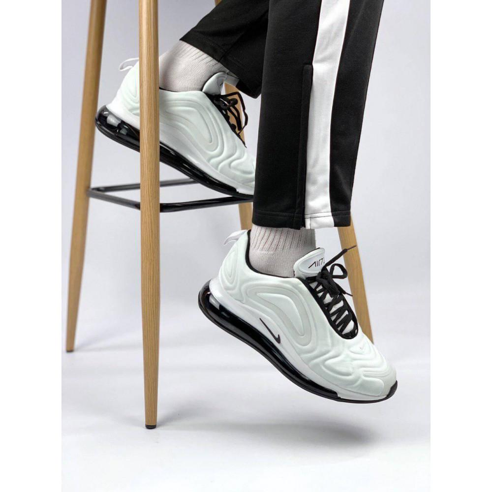 Демисезонные кроссовки мужские   - Белые летние мужские кроссовки Nike Air Max 720 2