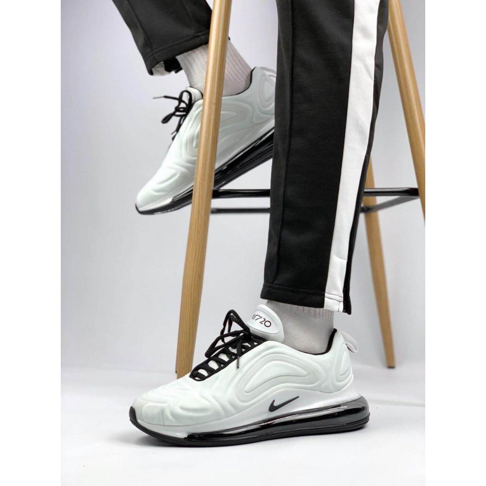 Демисезонные кроссовки мужские   - Белые летние мужские кроссовки Nike Air Max 720 3
